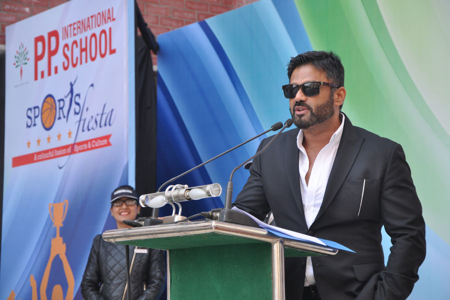 PP International School-sunil shetty